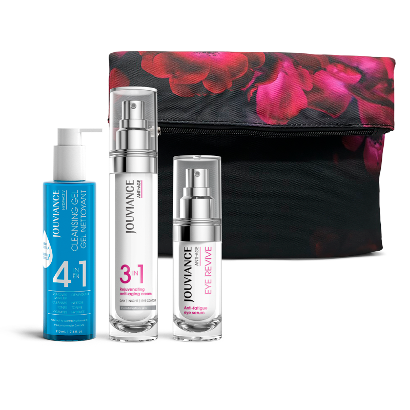 Rejuvenating Anti-Age 3-IN-1 Beauty Bag