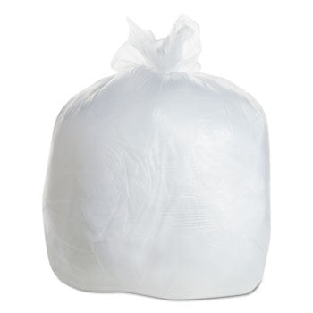 "24""X 33"" White Low Density Extra Heavy Can Liner 15 Gallon"