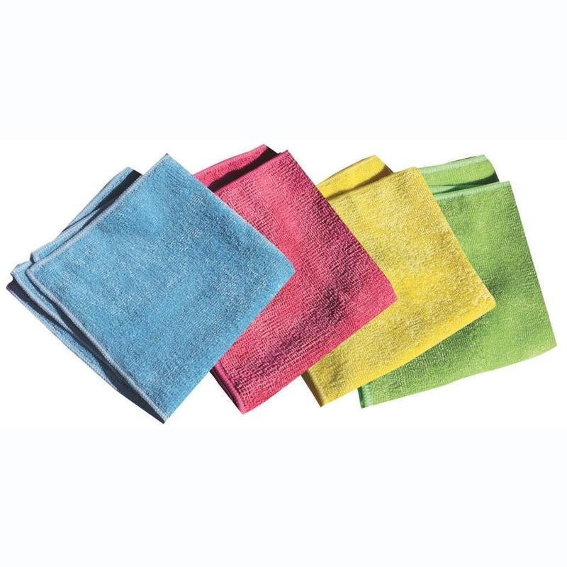 "General Purpose Microfiber Cloths 12"" x 12"""