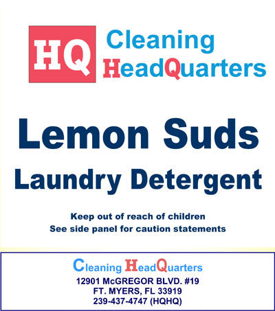 HQ (Lemon Suds—laundry detergent)