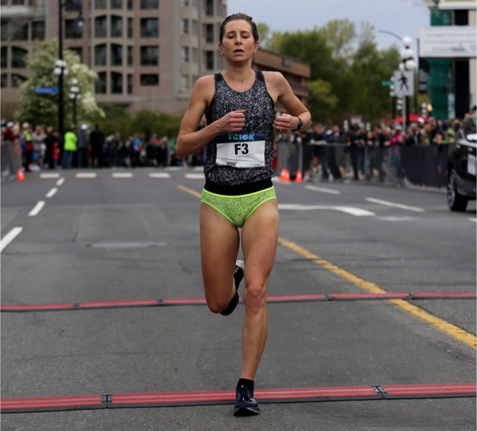 Dayna Pidhoresky on what it takes to run a 1:12 half-marathon