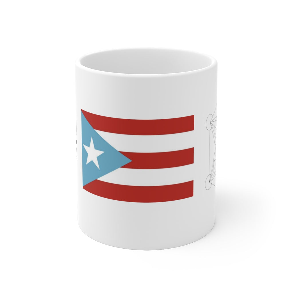 Flag Mug - julian-coffee-puerto-rican-coffee