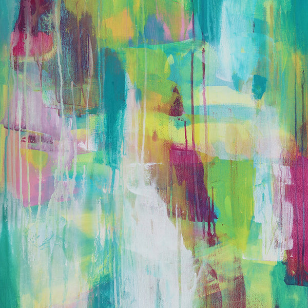 Abstract Art Print - Nightingale's Sister | Charlie Albright for Moments by Charlie