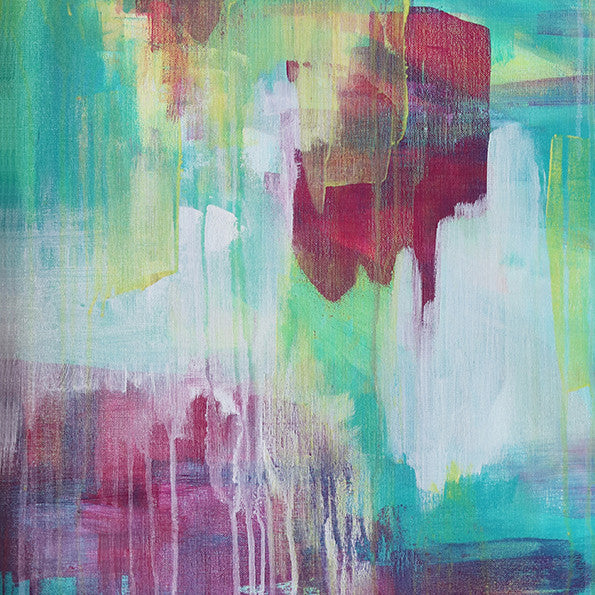 Abstract Art Print - Summer Nightingale 1 | Charlie Albright for Moments by Charlie