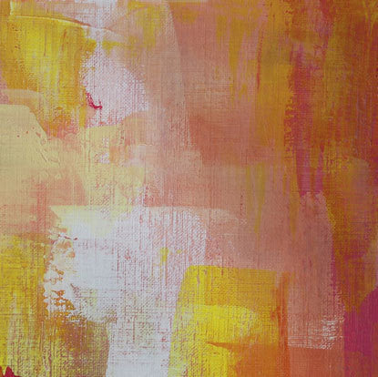 Abstract Art Print - Citrus Love 2 | Charlie Albright for Moments by Charlie
