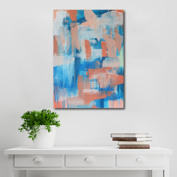 Abstract Acrylic Canvas Art - Ocean | Charlie Albright for Moments by Charlie