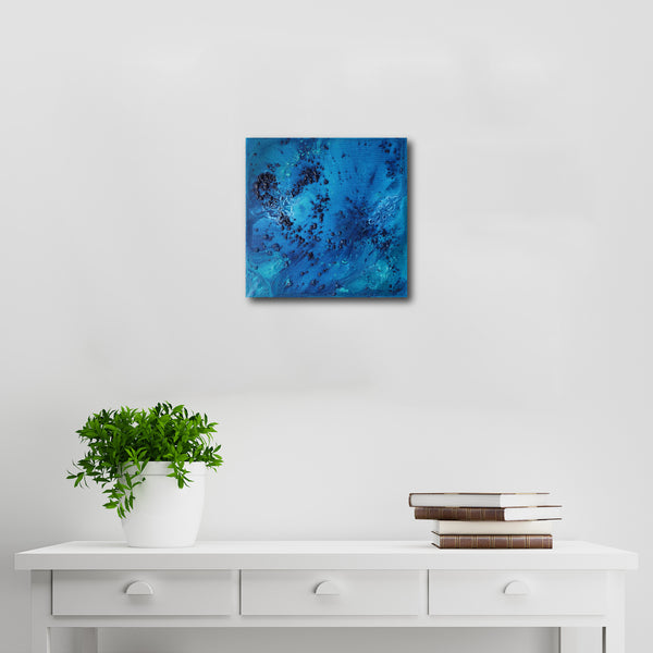 Abstract Acrylic Canvas Art - Ocean Floor | Charlie Albright for Moments by Charlie