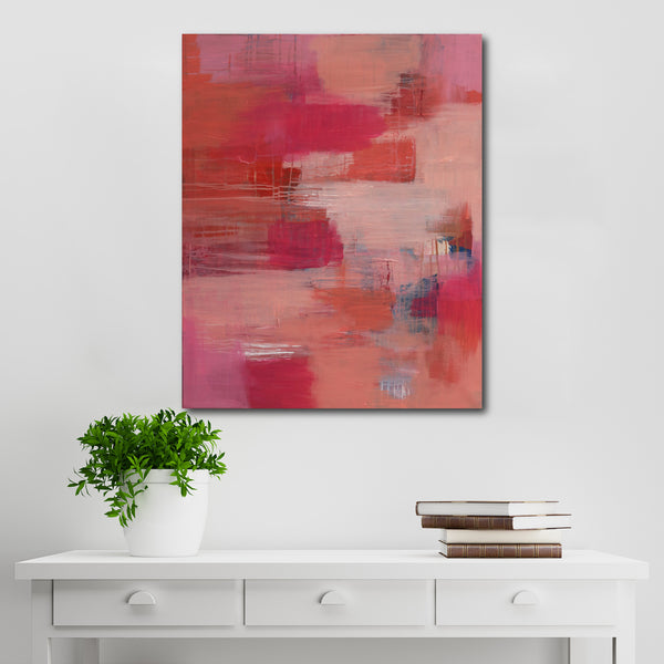 Abstract Acrylic Canvas Art - Urban Nest | Charlie Albright for Moments by Charlie
