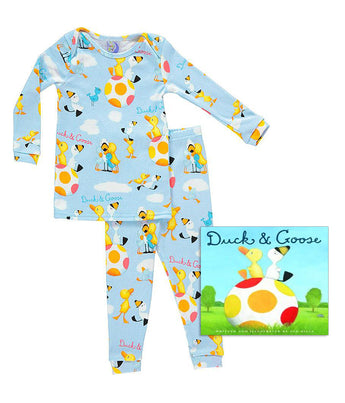 Duck and Goose Blue Infants
