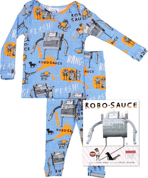 Robosauce Blue Infants