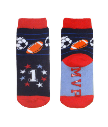 Sports Intarsia Socks