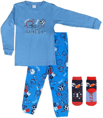 Sports Screen Print PJs