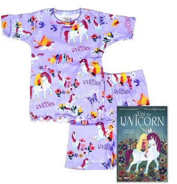 Uni the Unicorn Short Johns Infants
