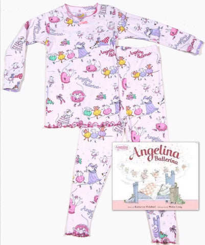 Angelina Ballerina Long Johns