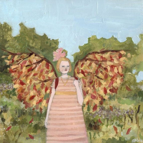 bonnie wore wings of autumn  - limited edition print