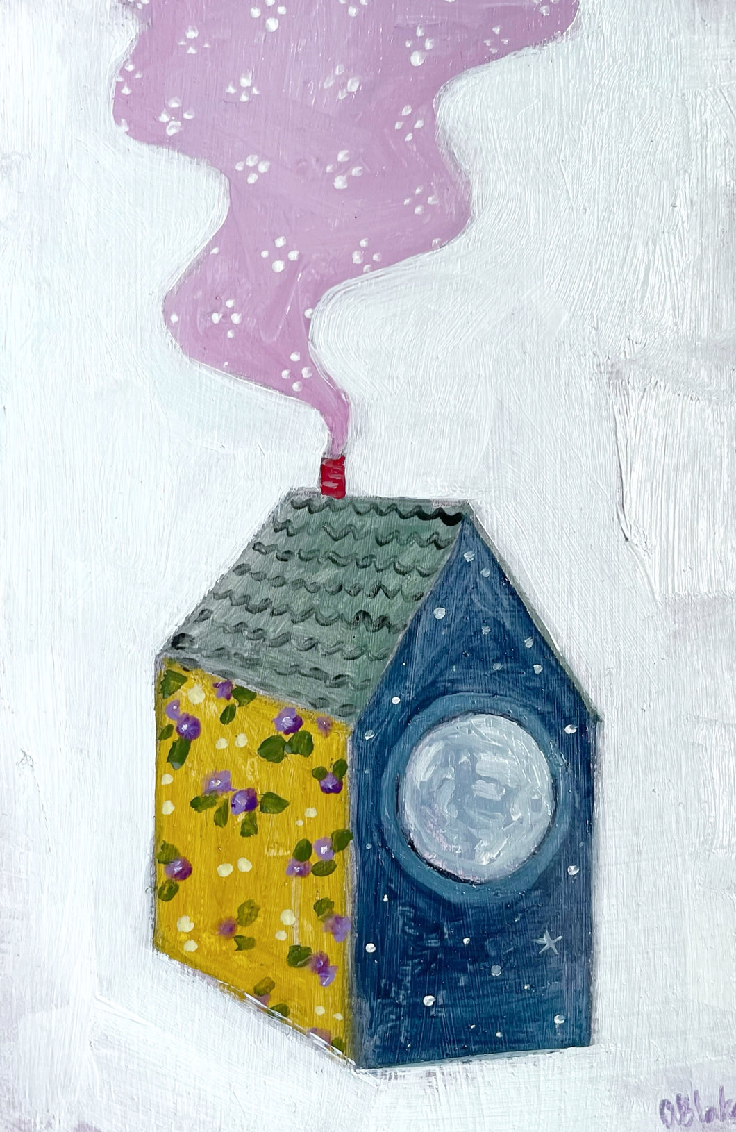 A home made of moonlight and violets