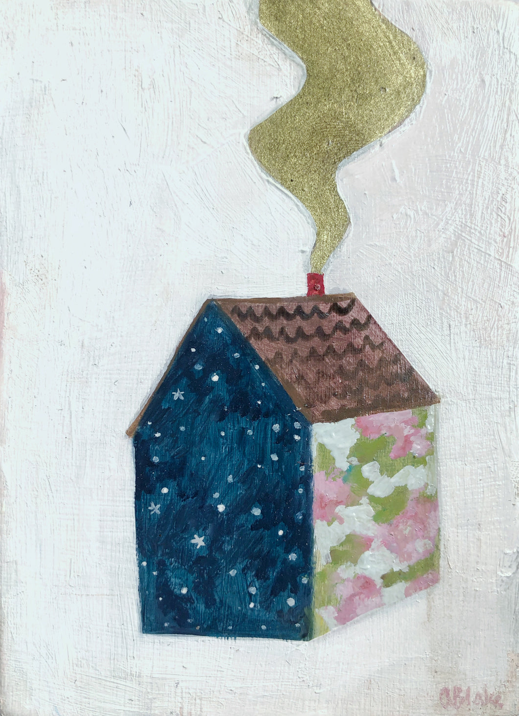 A home made of spring and starlight