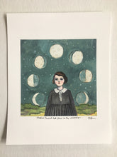 Marion found her place in the universe - print