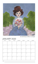 2020 Wall Calendar - slightly damaged