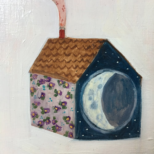 A home made of violets and moonlight