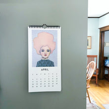 Load image into Gallery viewer, 2021 tiny portrait wall calendar
