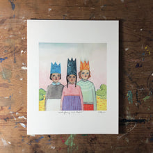 Everything was theirs -  print