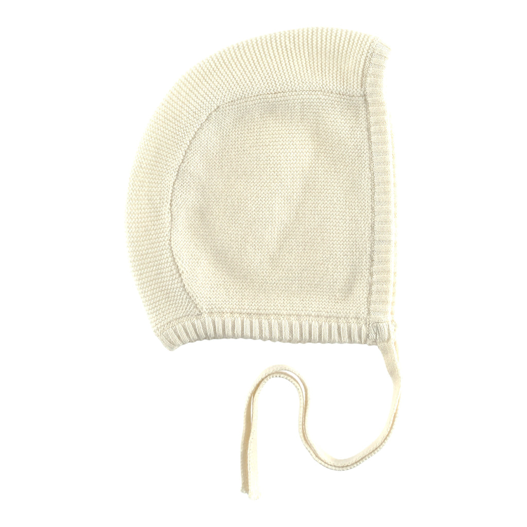 Catkin Kids Organic Cotton Knitted Baby Bonnet