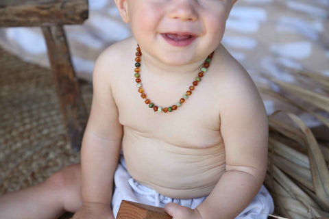 Wildsoul Baby Amber Necklace