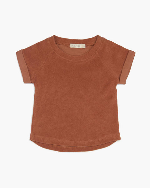 Frotte Top-Burnt Clay