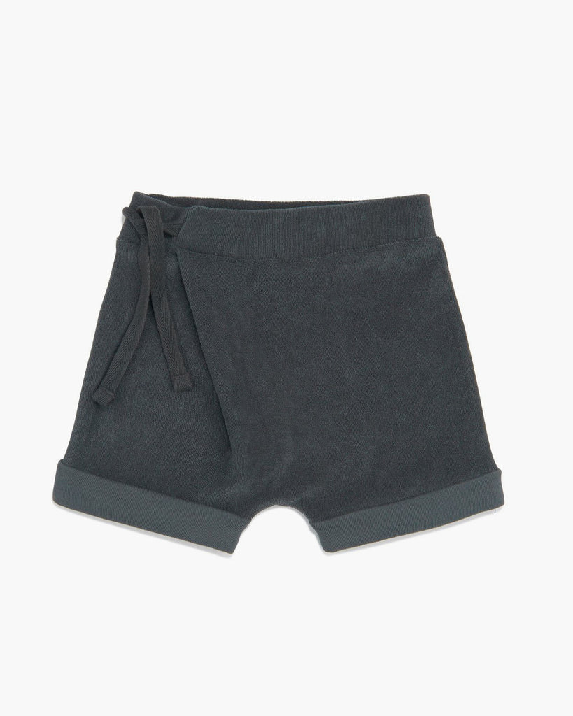 Harem shorts- Slate green