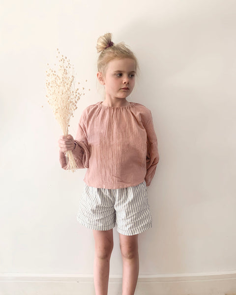 Basile Blouse- Blush