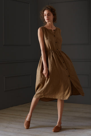 Mama Tamara Dress Golden Ochre