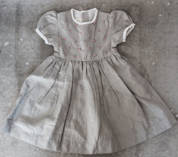 catkin kids handmade embroidered dress