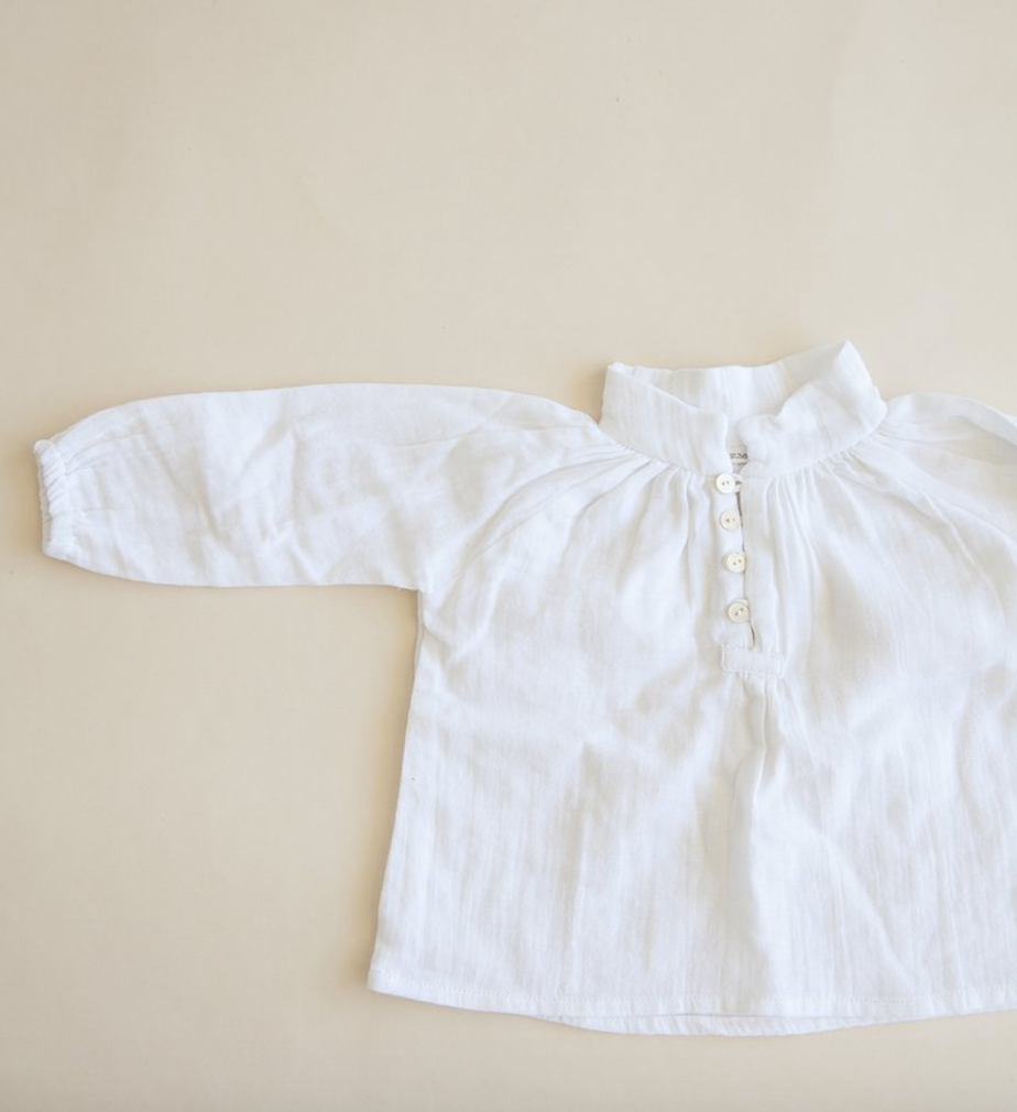 Little Blouse- White
