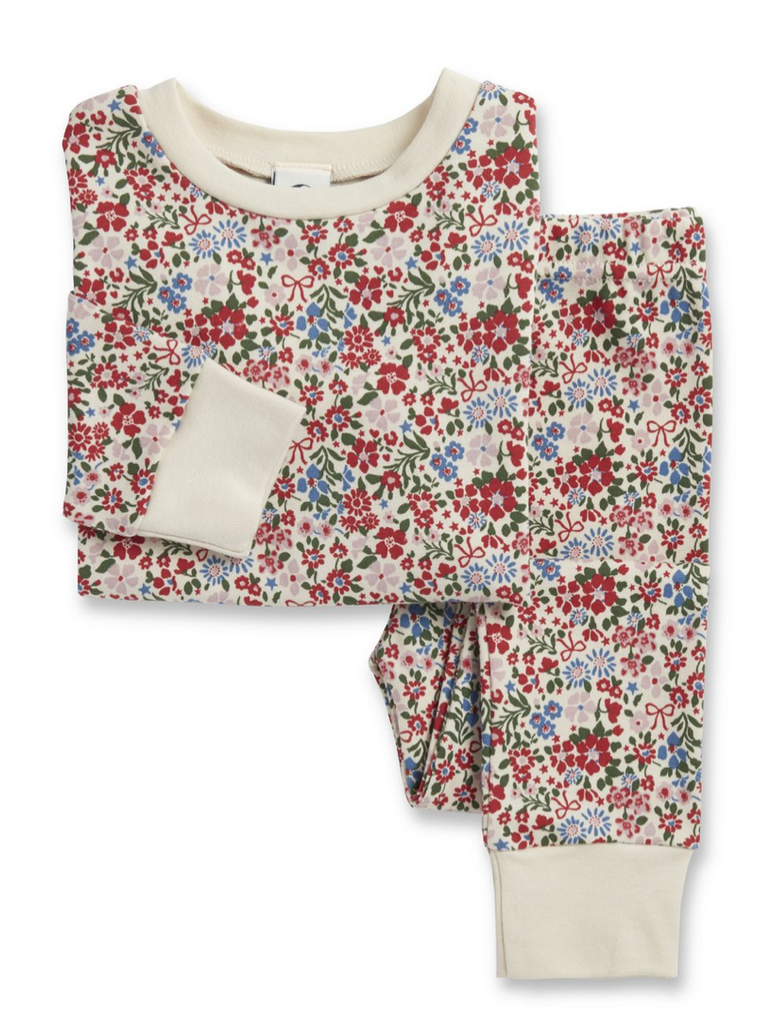 Winter Floral PJ set