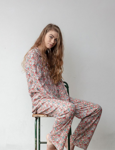 Winter Floral Women's PJ set