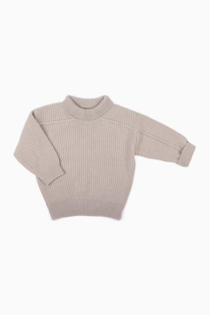 Oversized  Knit Sweater Adult (merino and cashmere)