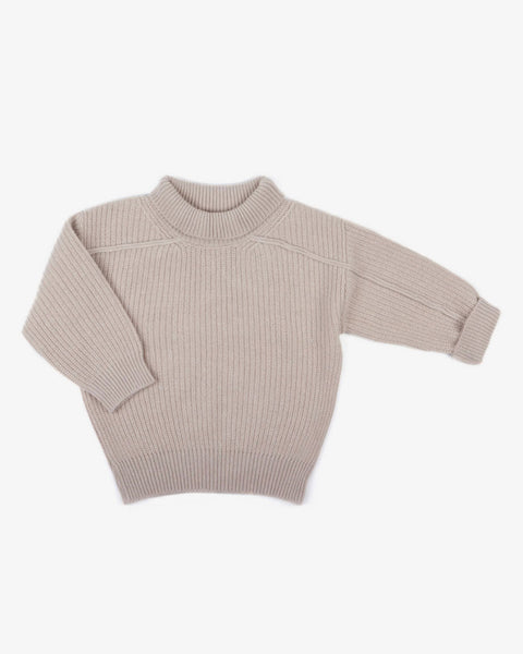 Oversize Knit Sweater (cashmere and merino)