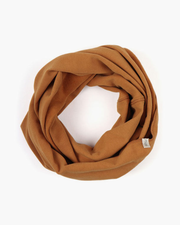Infinity scarf Gold Ocre