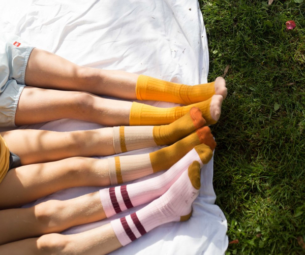 Sunshine socks child & adult