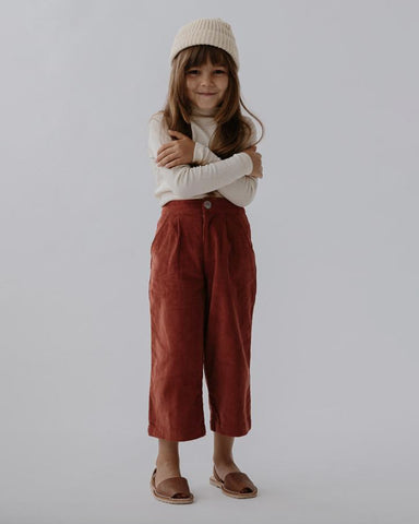 Kip trousers- poppy cord