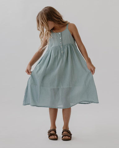 Picnic Dress- Azure