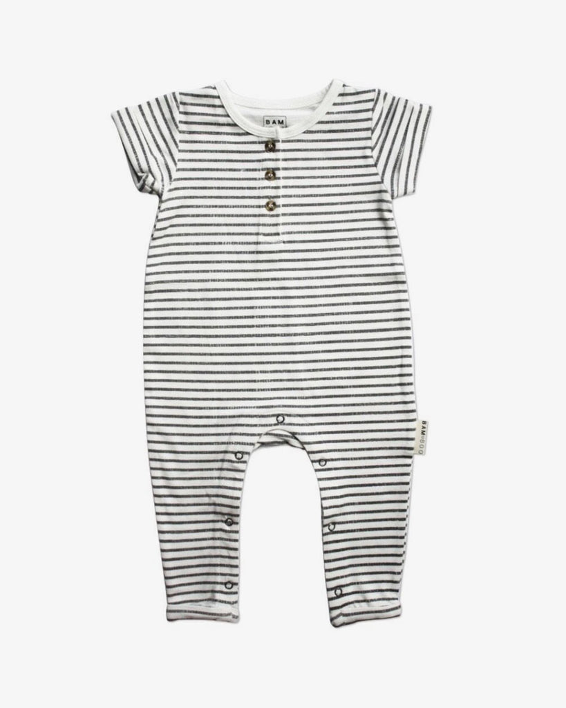 Bamboo Short Sleeved Romper Suit