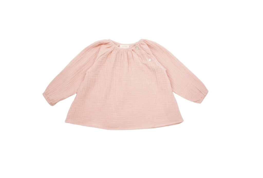 Anais Cotton Blouse in Blush