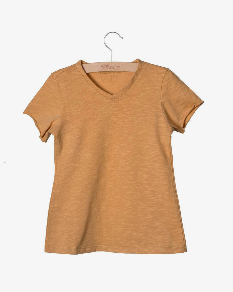 Organic Cotton T Shirt in  Sand