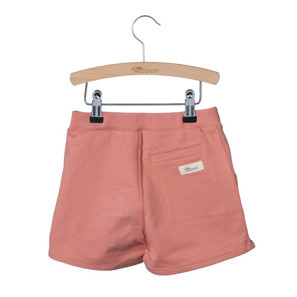 Organic Cotton Shorts in Desert Sandy Pink