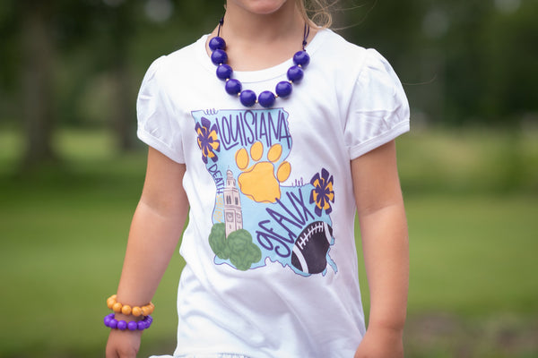 Louisiana State - Geaux Tigers - Gameday Graphic Tee