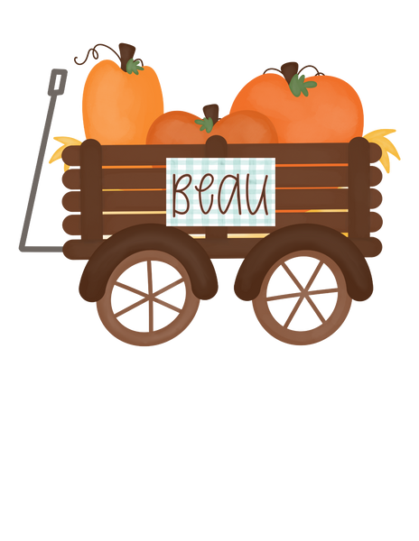 Pumpkin Wagon - Graphic Tee