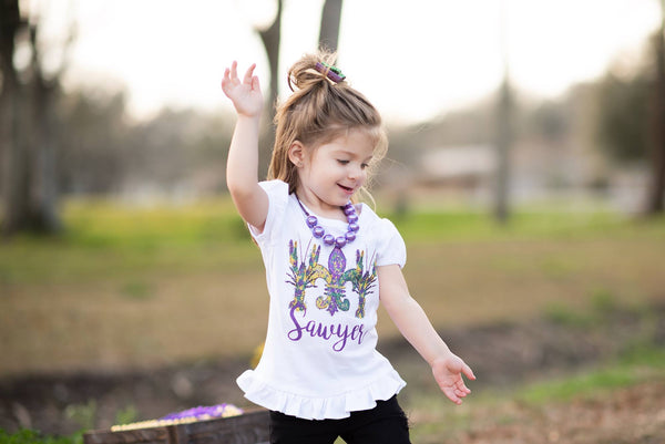 Crawfish - Mardi Gras Graphic Tee