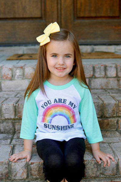 Rainbow You are my sunshine - Graphic Tee